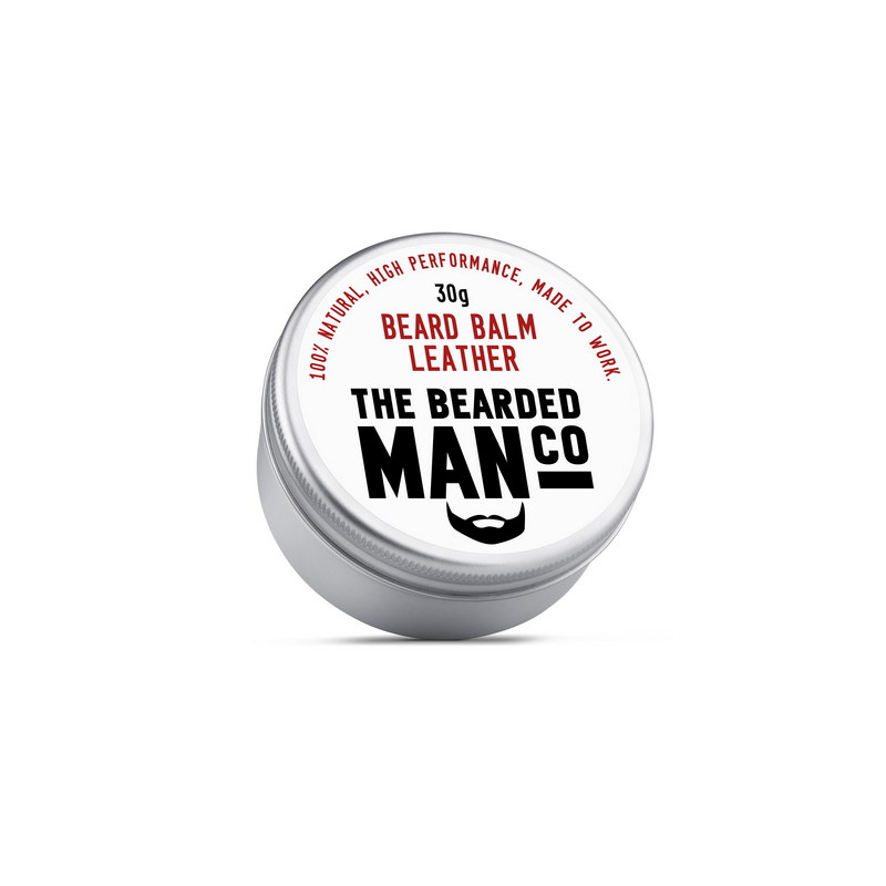 Бальзам для бороды The Bearded Man Company, Leather (Дубленая кожа), 30 гр | Max Moore