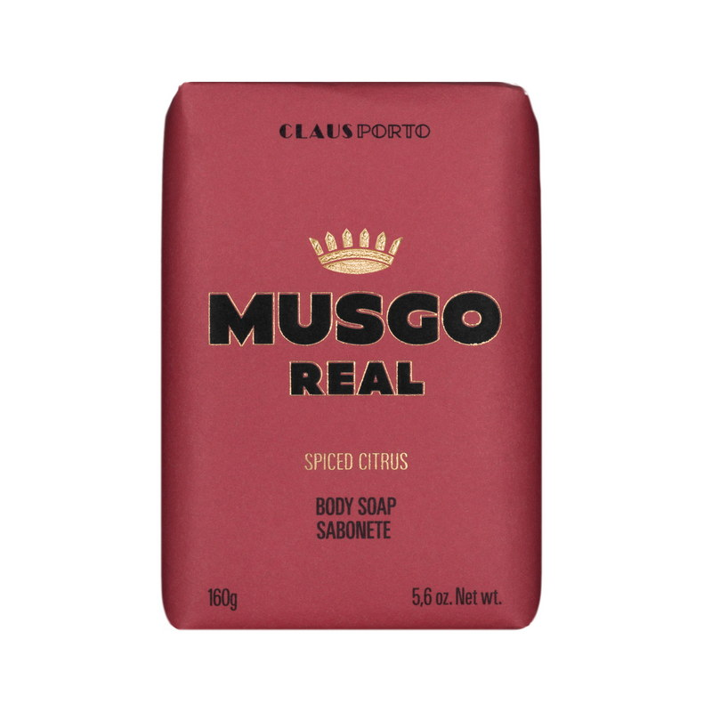 Мыло для душа Musgo Real, Spiced Citrus, 160 гр | Max Moore