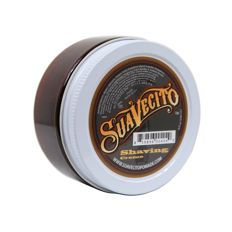 Suavecito Shaving Cream Bay Rum - Крем для бритья Bay Rum | Max Moore