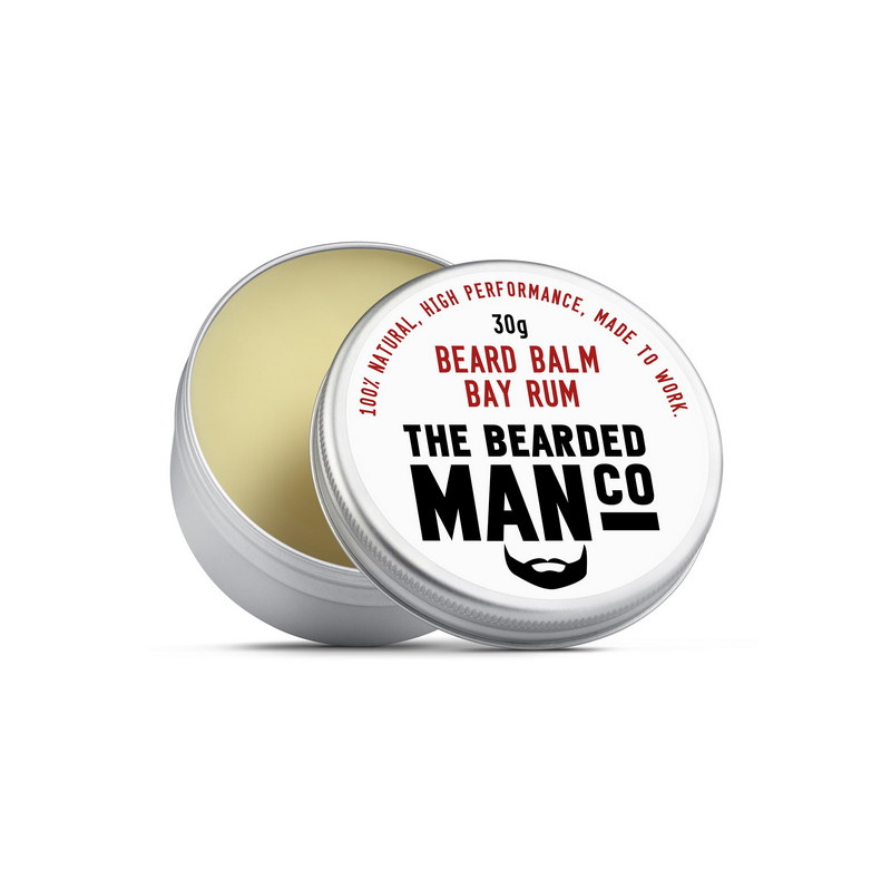 Бальзам для бороды The Bearded Man Company, Bay Rum (Карибский ром), 30 гр | Max Moore