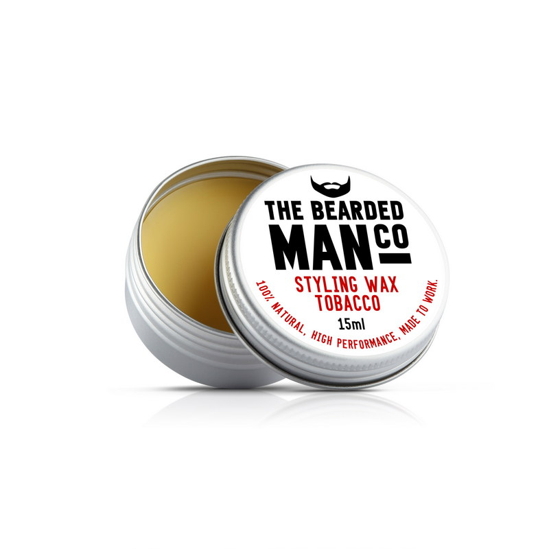 Воск для усов The Bearded Man Company, Tobacco (Табак), 15 мл | Max Moore