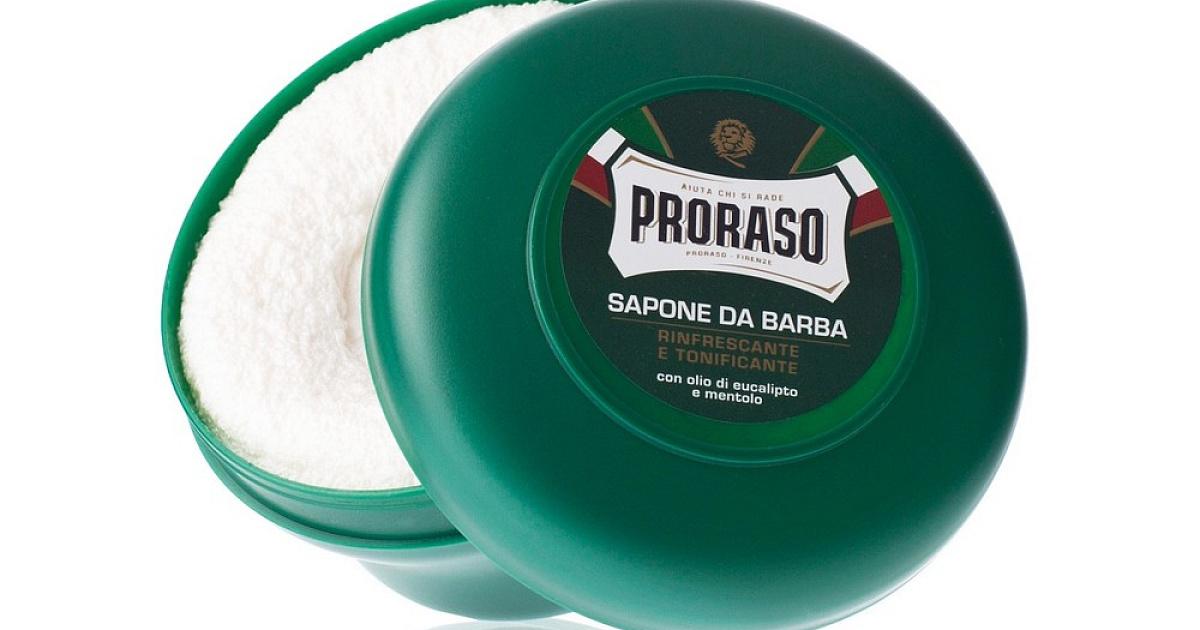 Мыло для бритья освежающее Эвкалипт Proraso — купить с доставкой